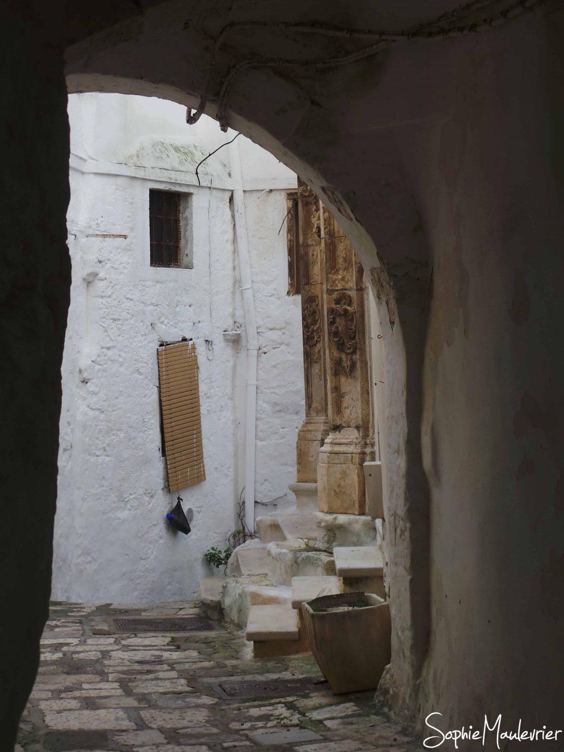 Old town Ostuni, Puglia, Italy