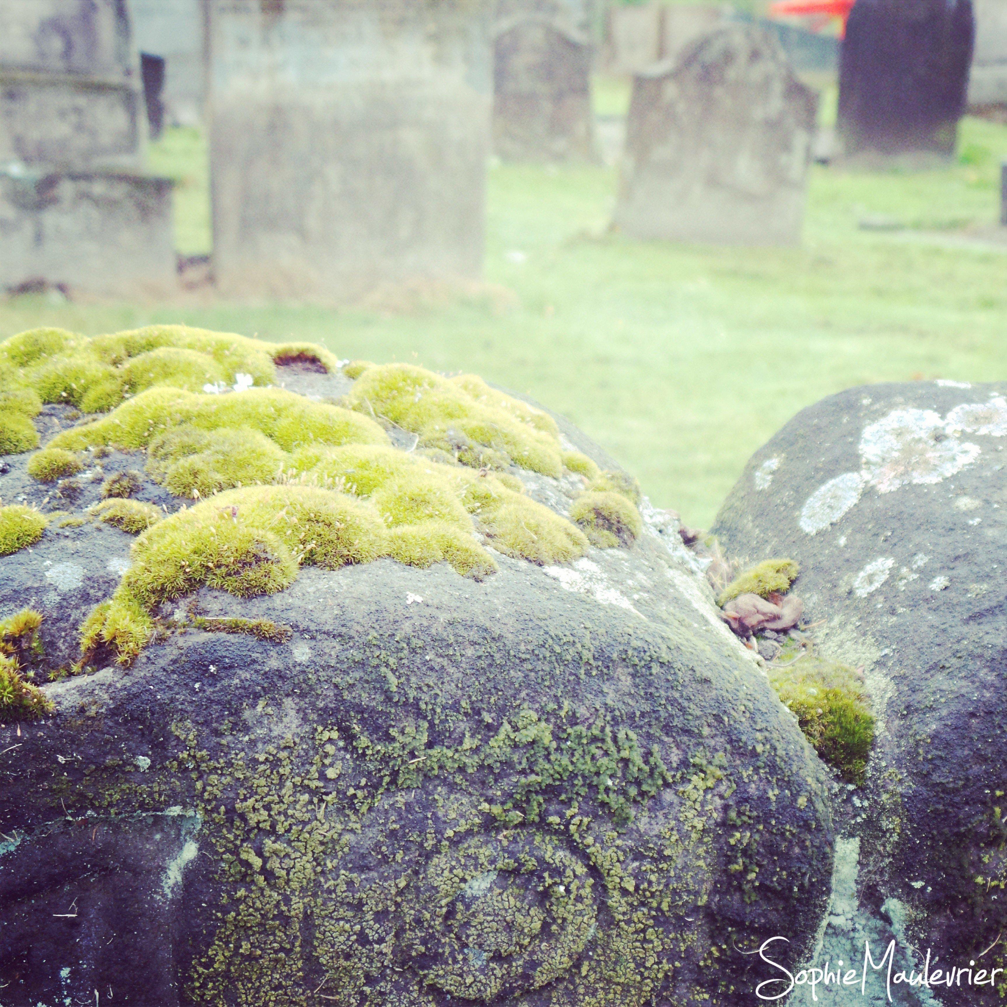 Atmosphère du cimetière de Stirling !