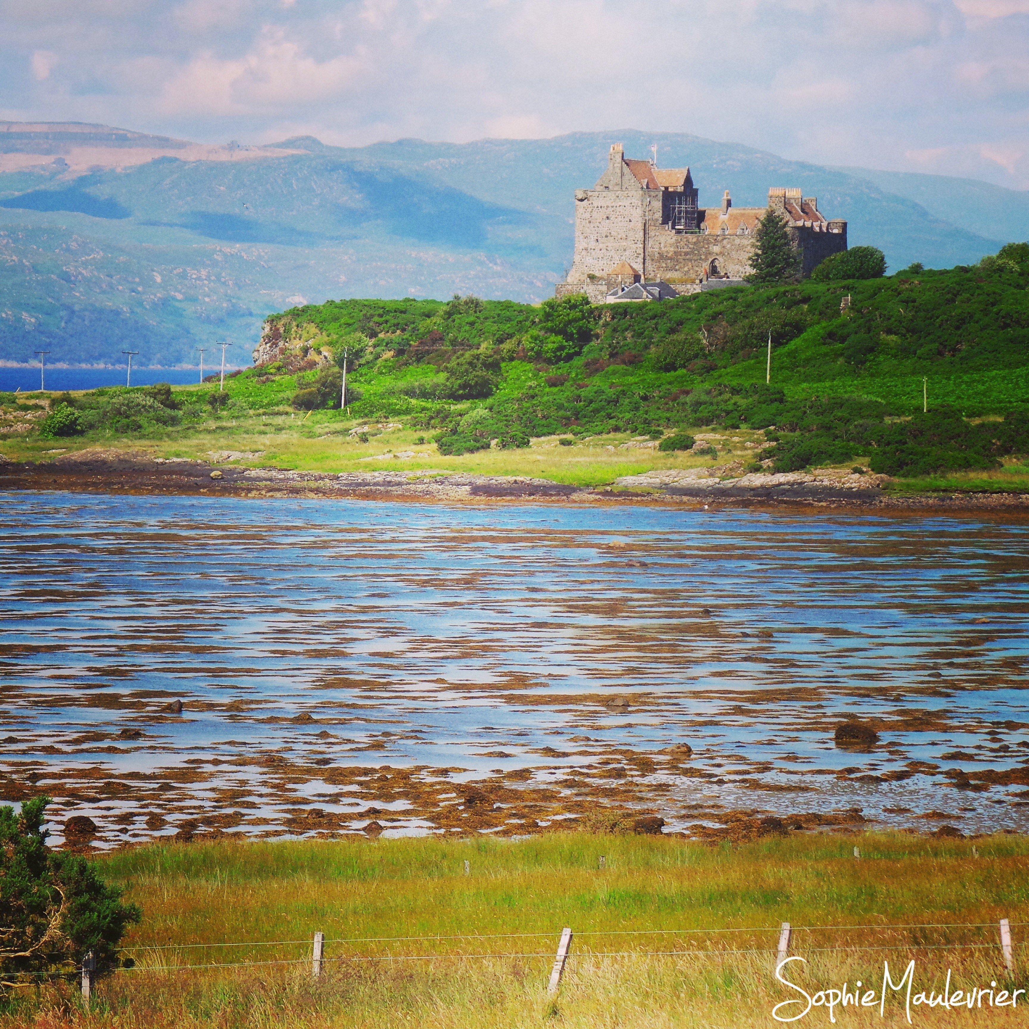 Duart Castle sur l'île de Mull en Ecosse