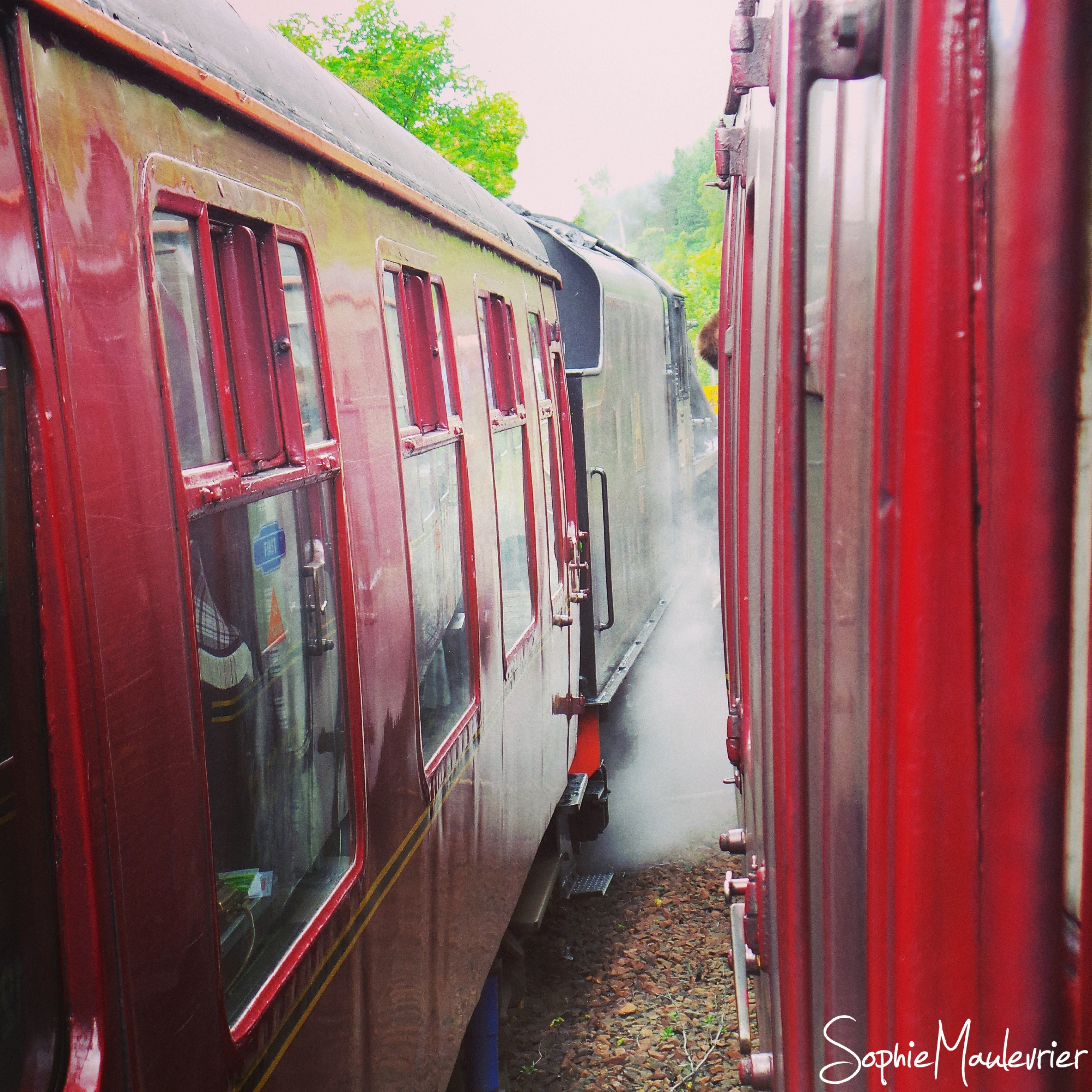 Magnifique train à vapeur - The Jacobite en Ecosse