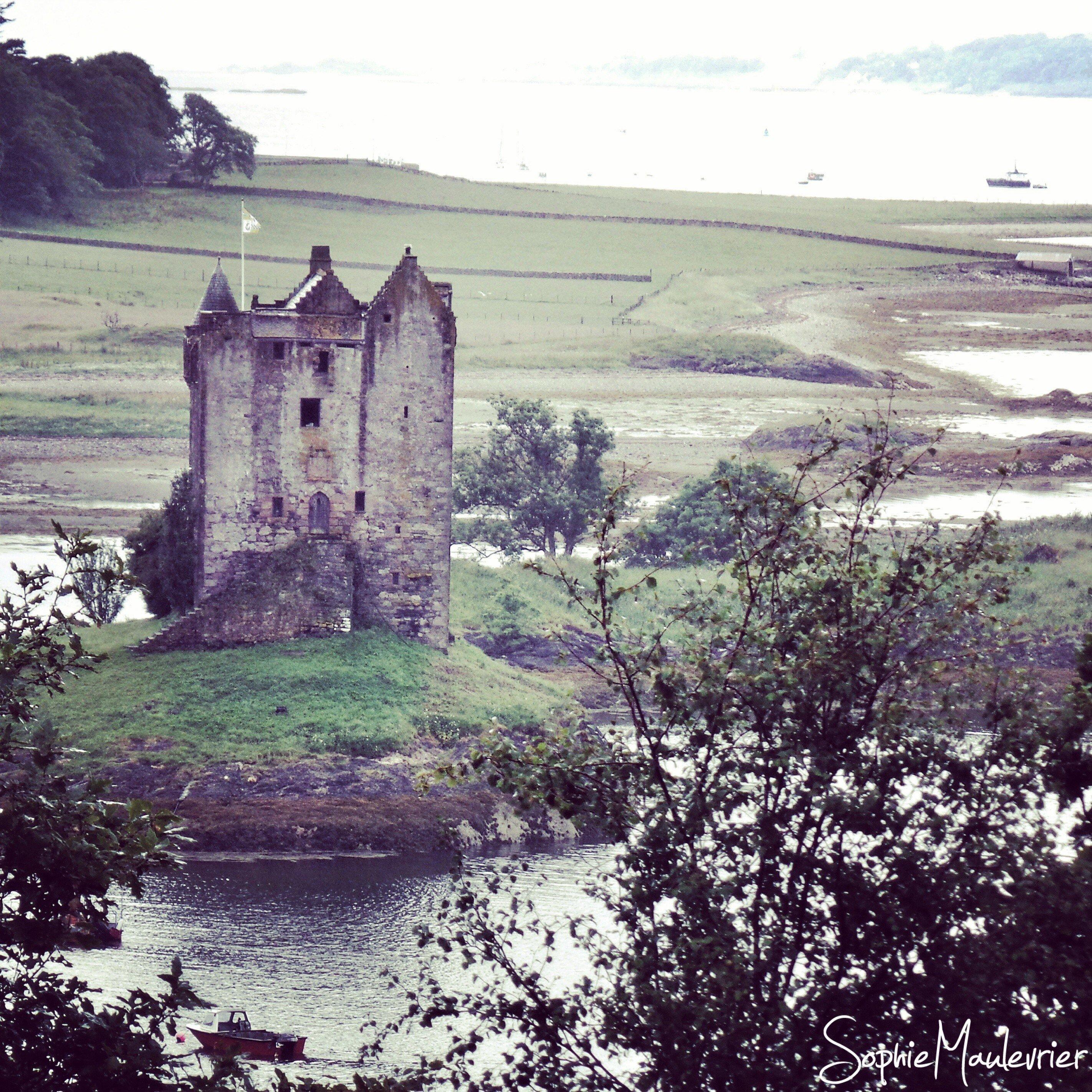 Castle Stalker au nord de Oban en Ecosse