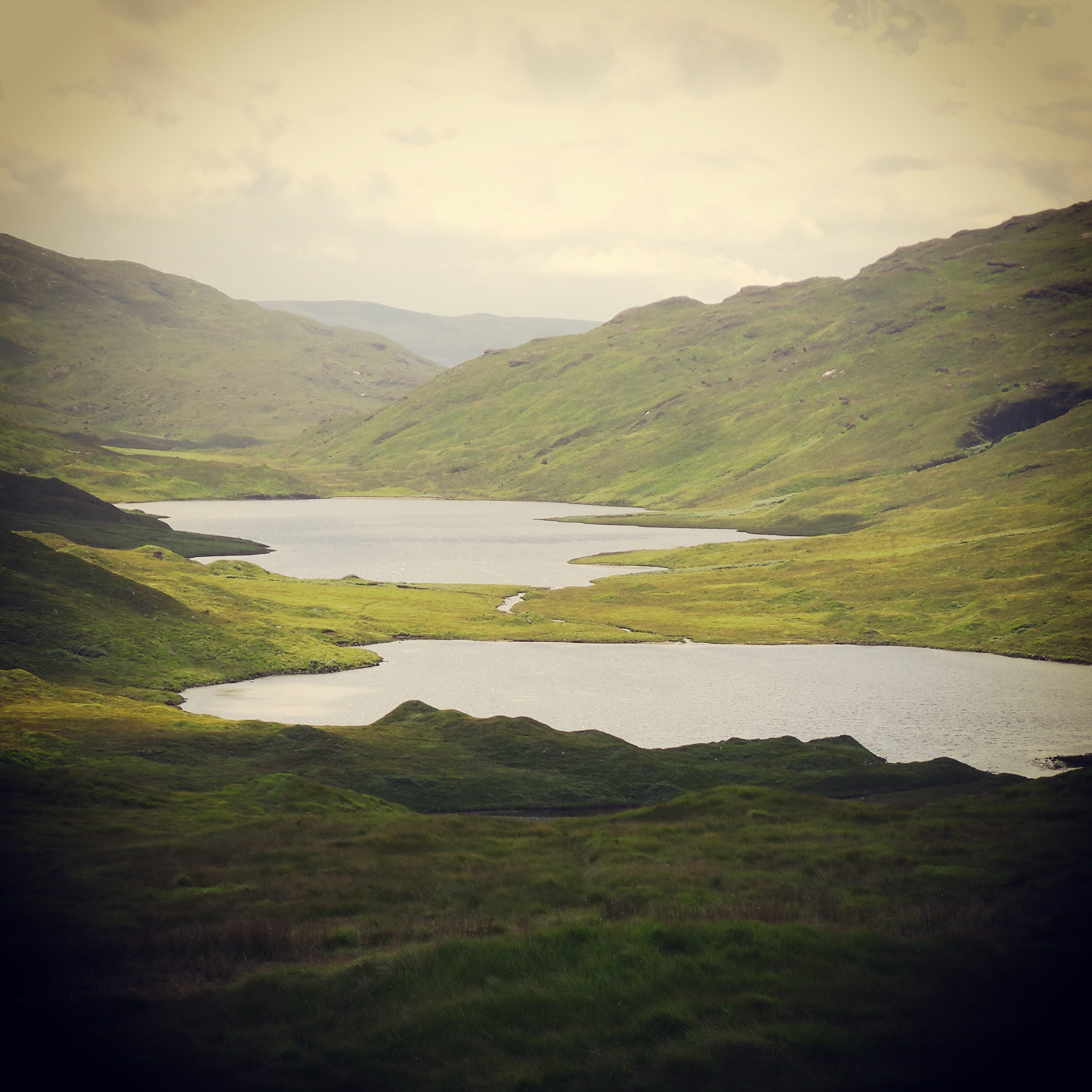 Paysage fantastique de l'île de Mull