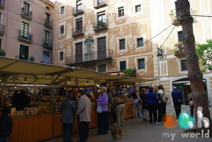 Marché gastronomique Barcelone