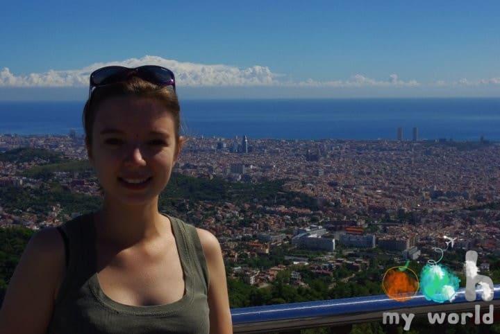 Vue sur Barcelone-Sophie