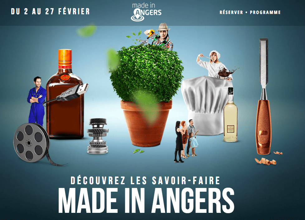 Made In Angers - Site internet
