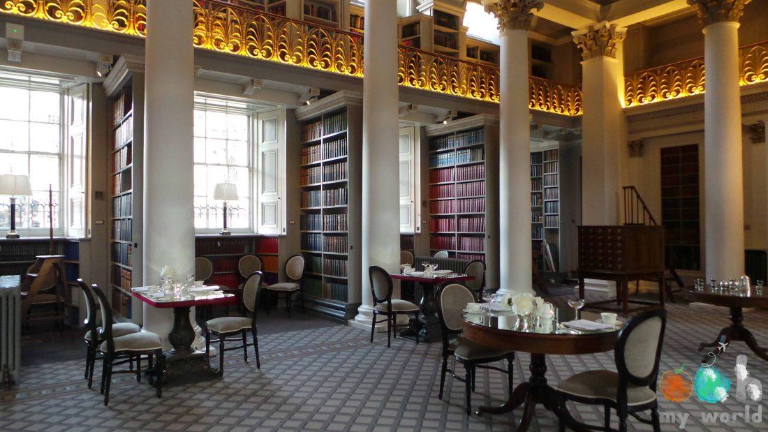 Afternoon Tea aux Colonnades à Edimbourg