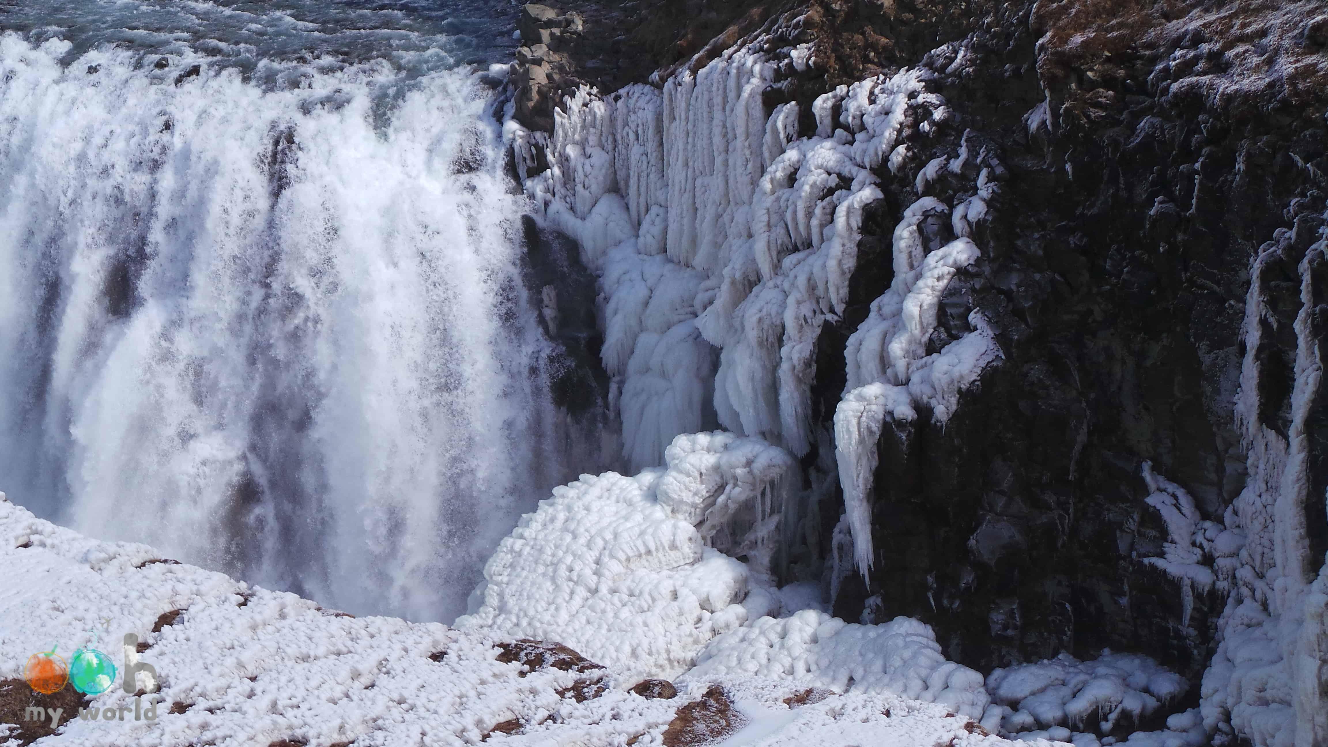 Islande blanche - Chutte de Gullfoss