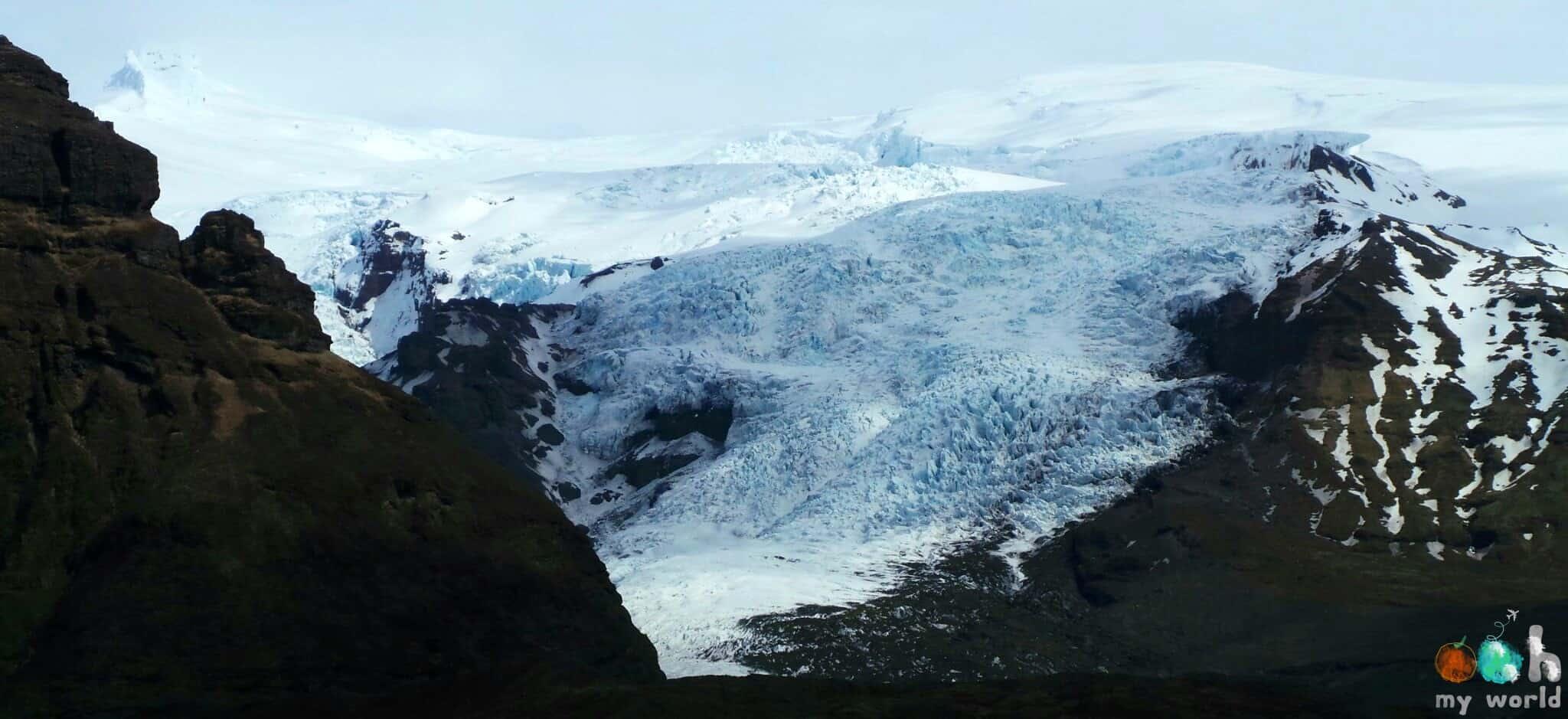 Glacier de Skaftafell en Islande
