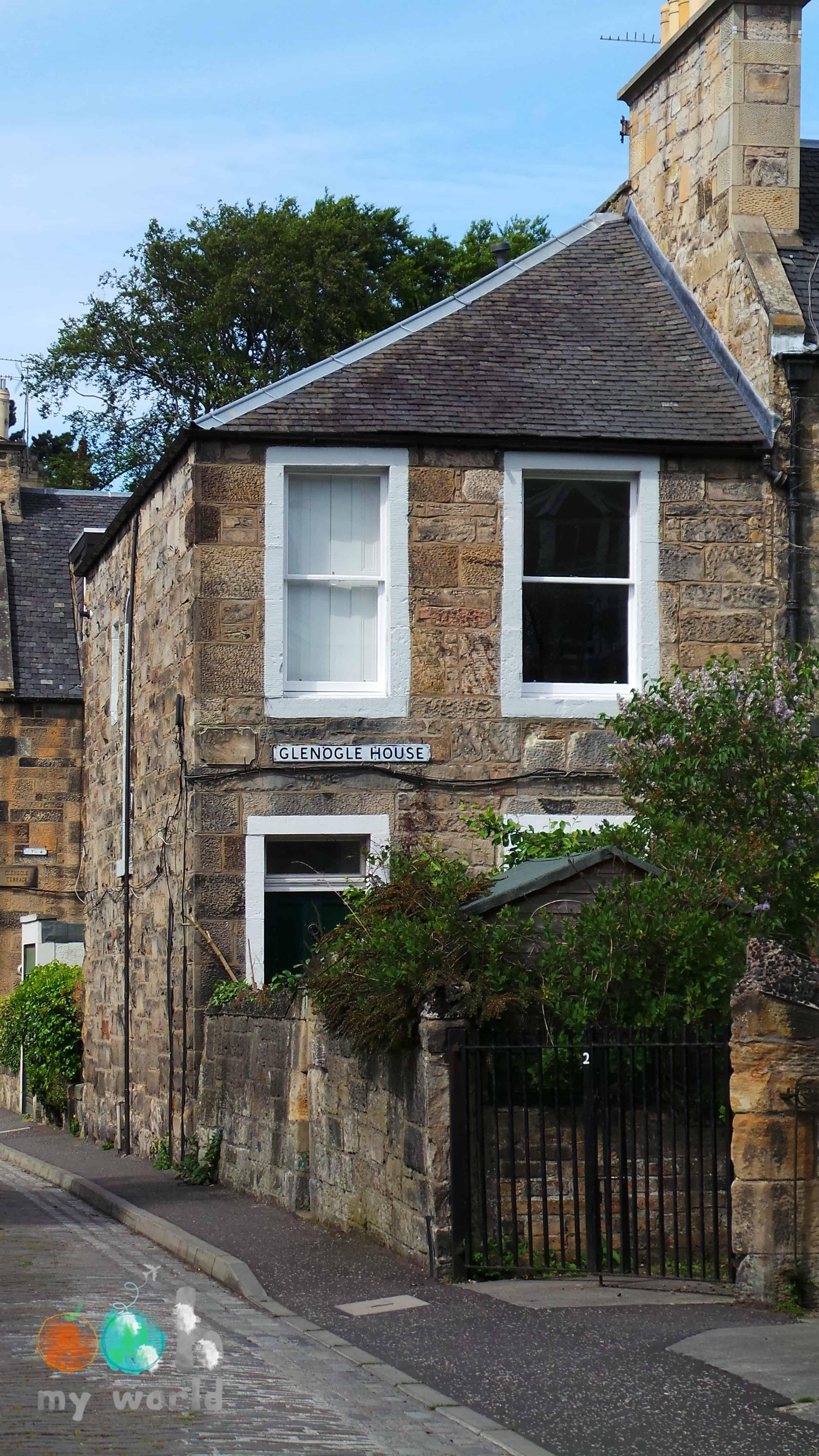 Petite maison des colonies de Stockbridge à Edimbourg
