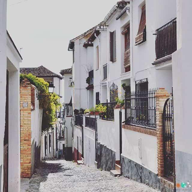 Quartier_Albaicín_Rue
