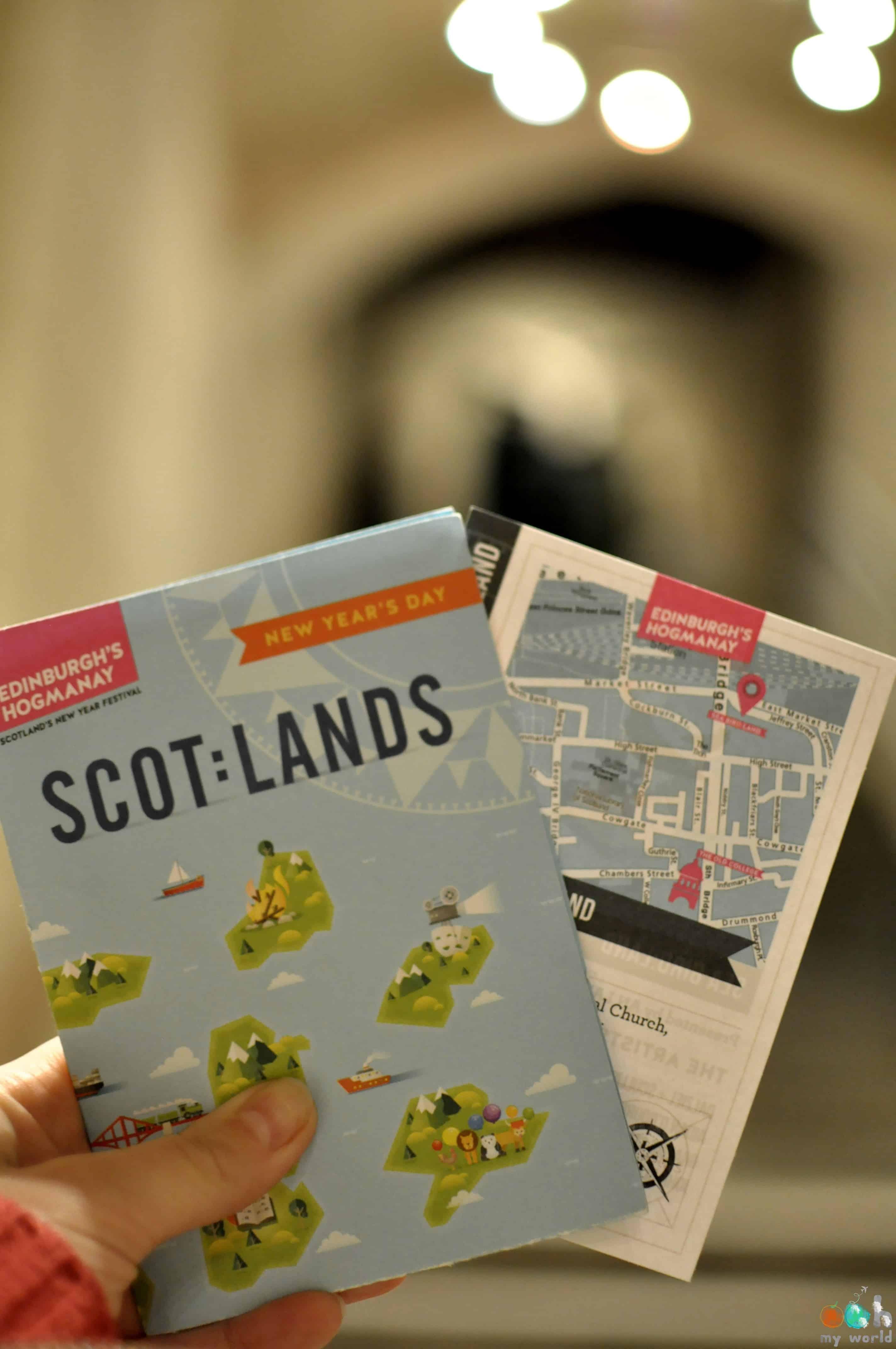 ScotLand au Nouvel An à Edimbourg