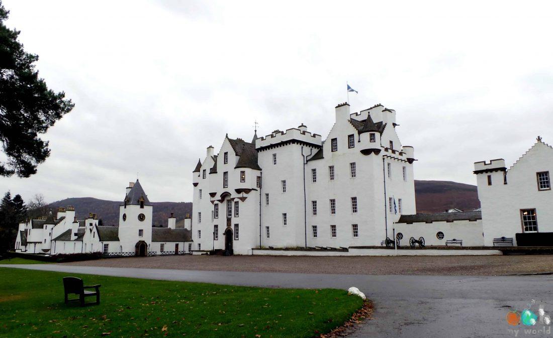 Châteaux écossais : Blair Castle