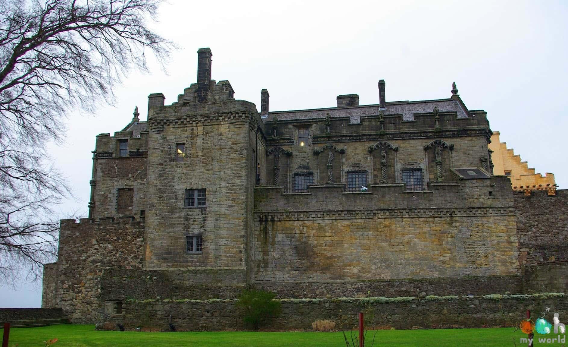 Château de Stirling en Ecosse