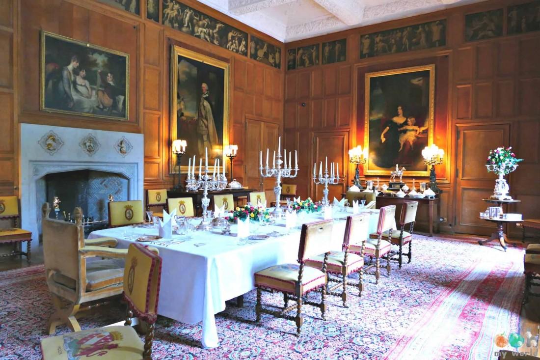Salon du château de Dunrobin