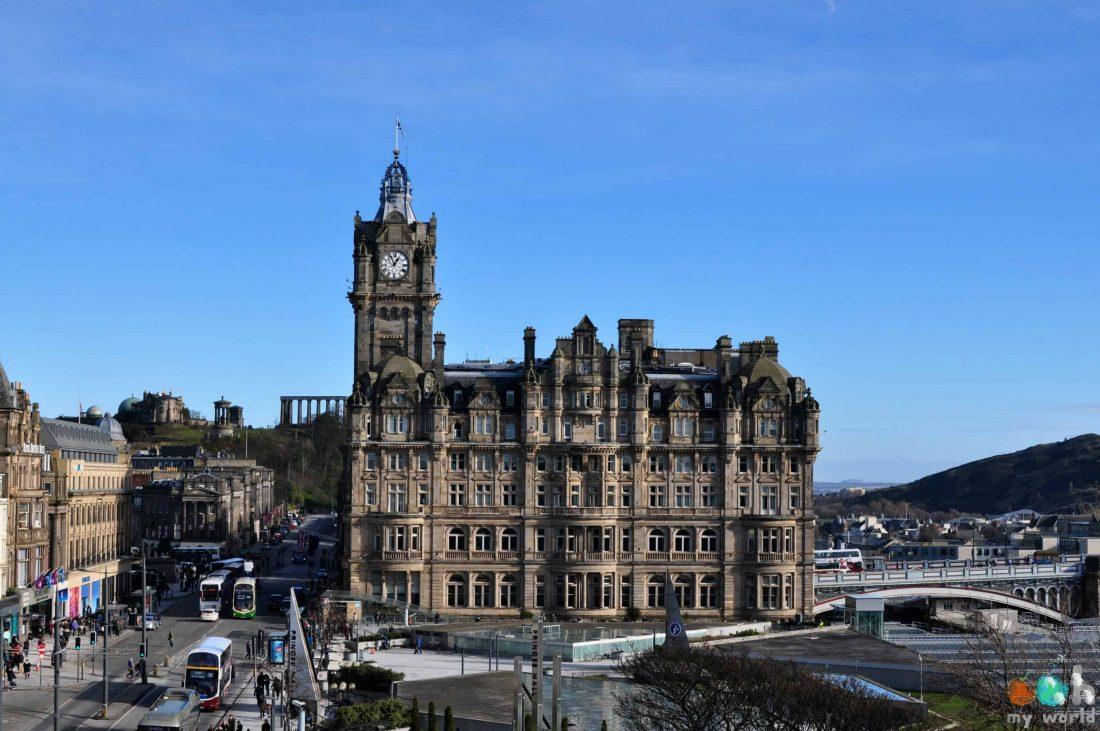 L'hôtel Balmoral à Edimbourg