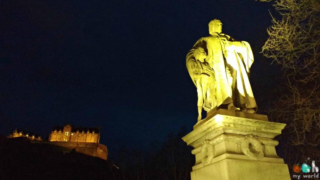 Edimbourg de nuit