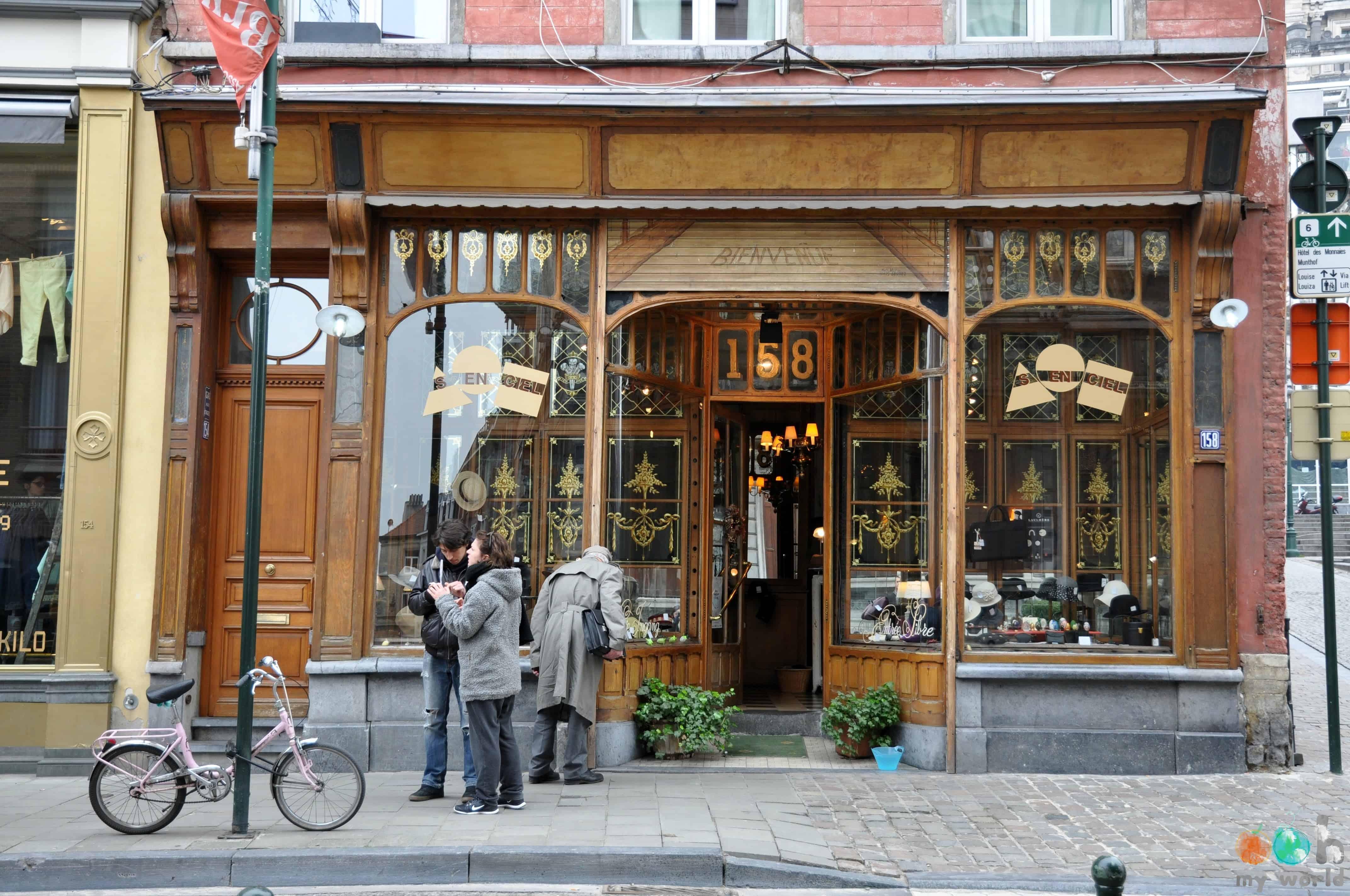 Chapelier Rue Haute à Bruxelles en Ecosse