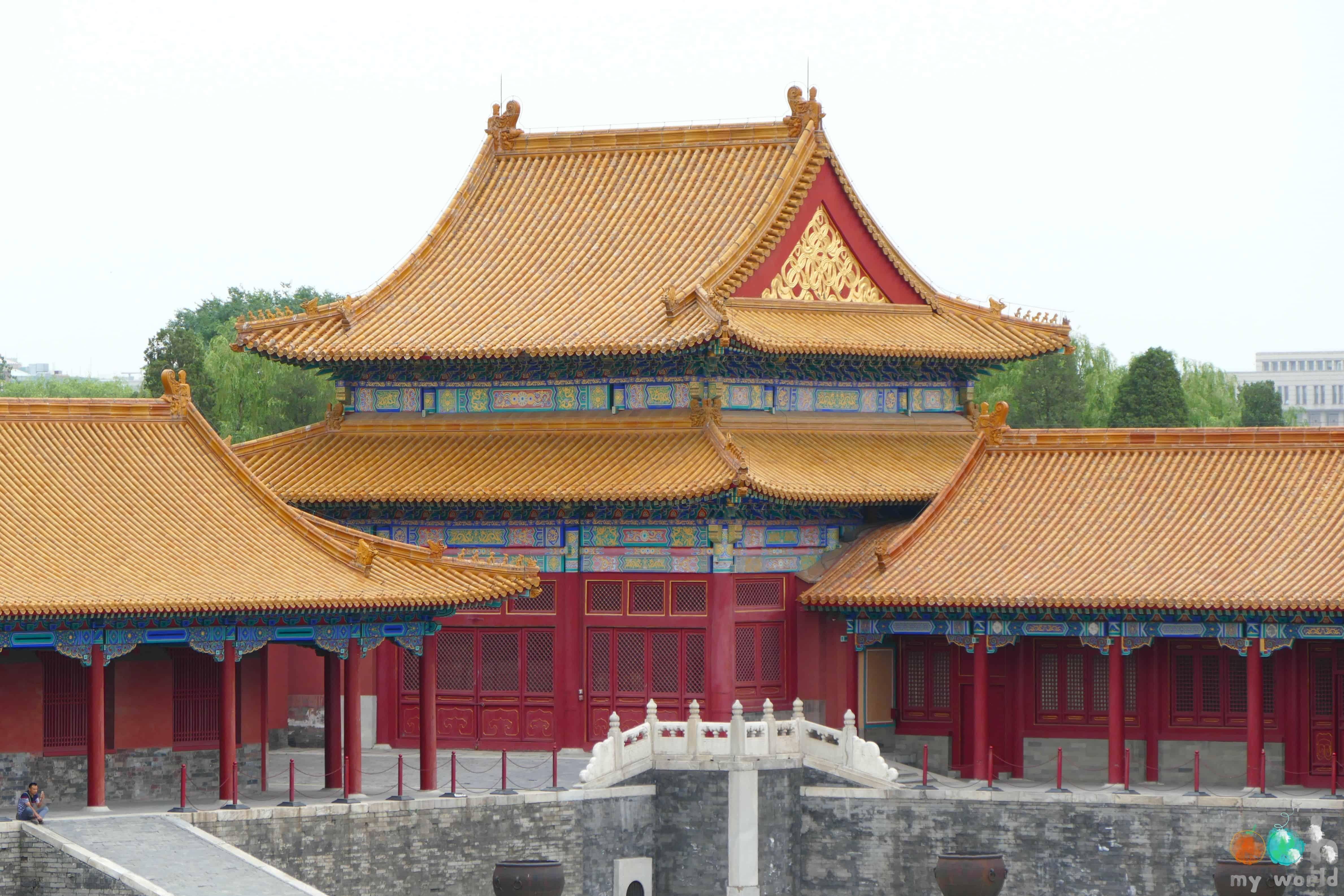 Cité interdite de Pékin en Chine