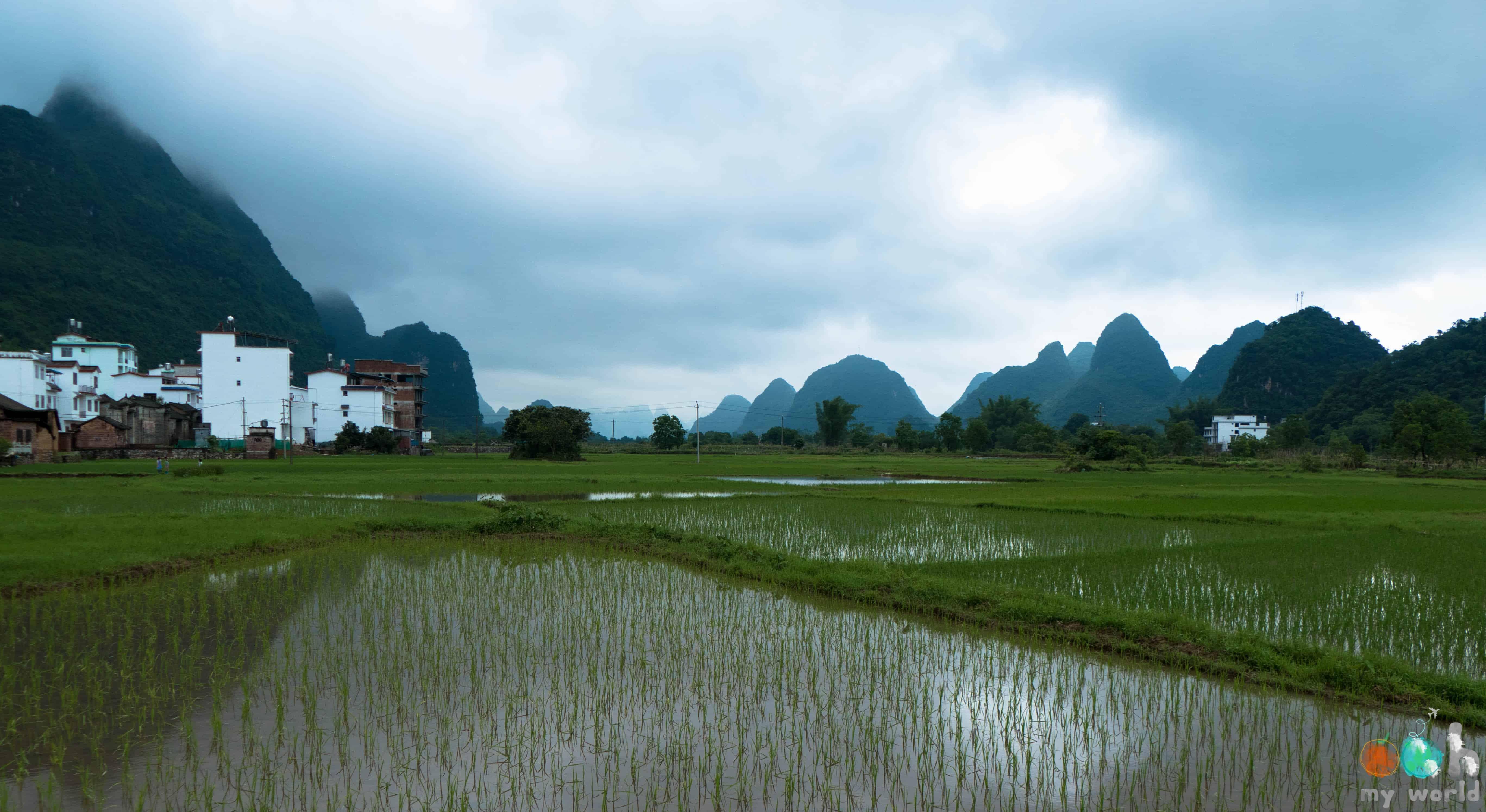 Rivière Yulong en Chine