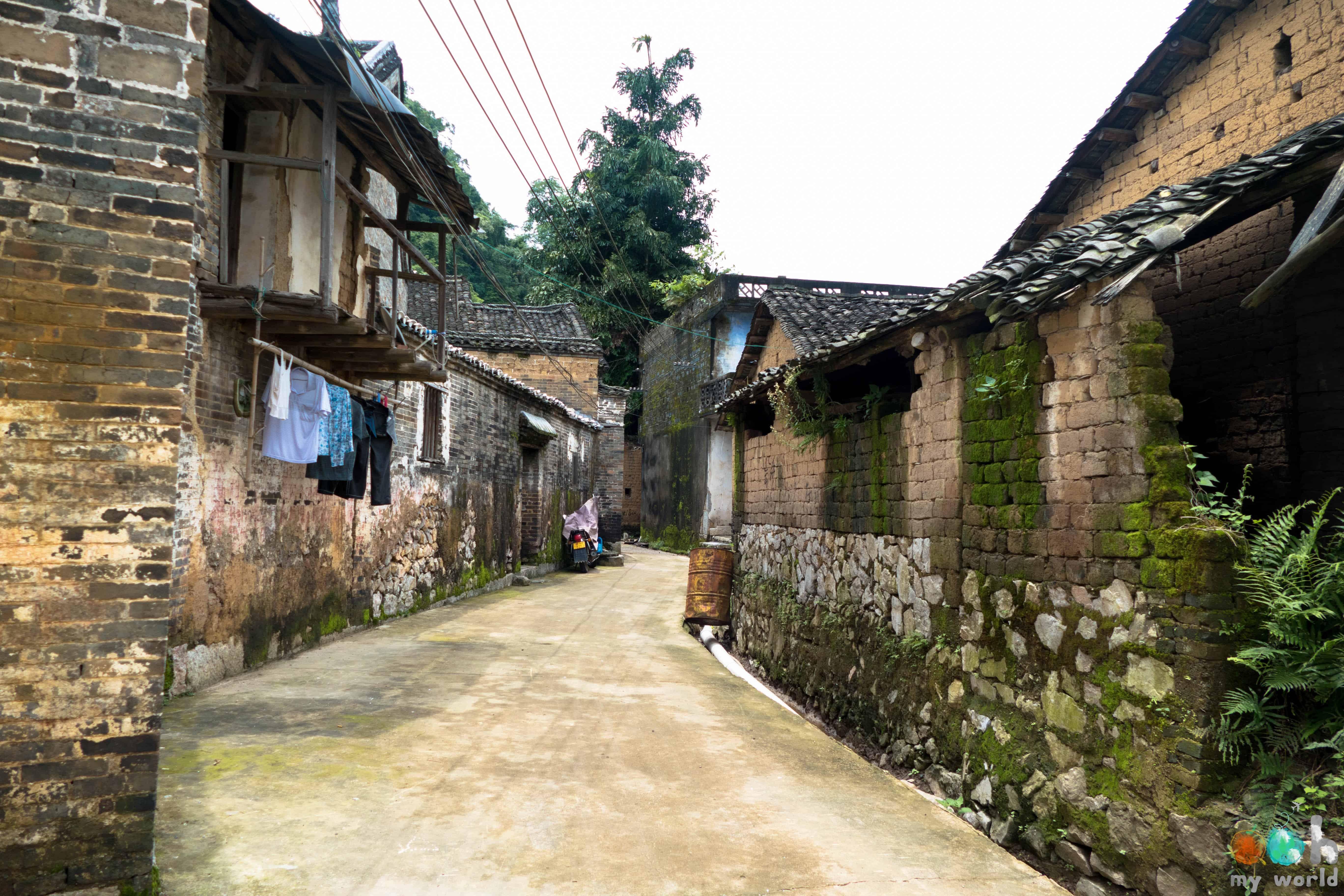 Maison Ming dans la région de Yangshuo