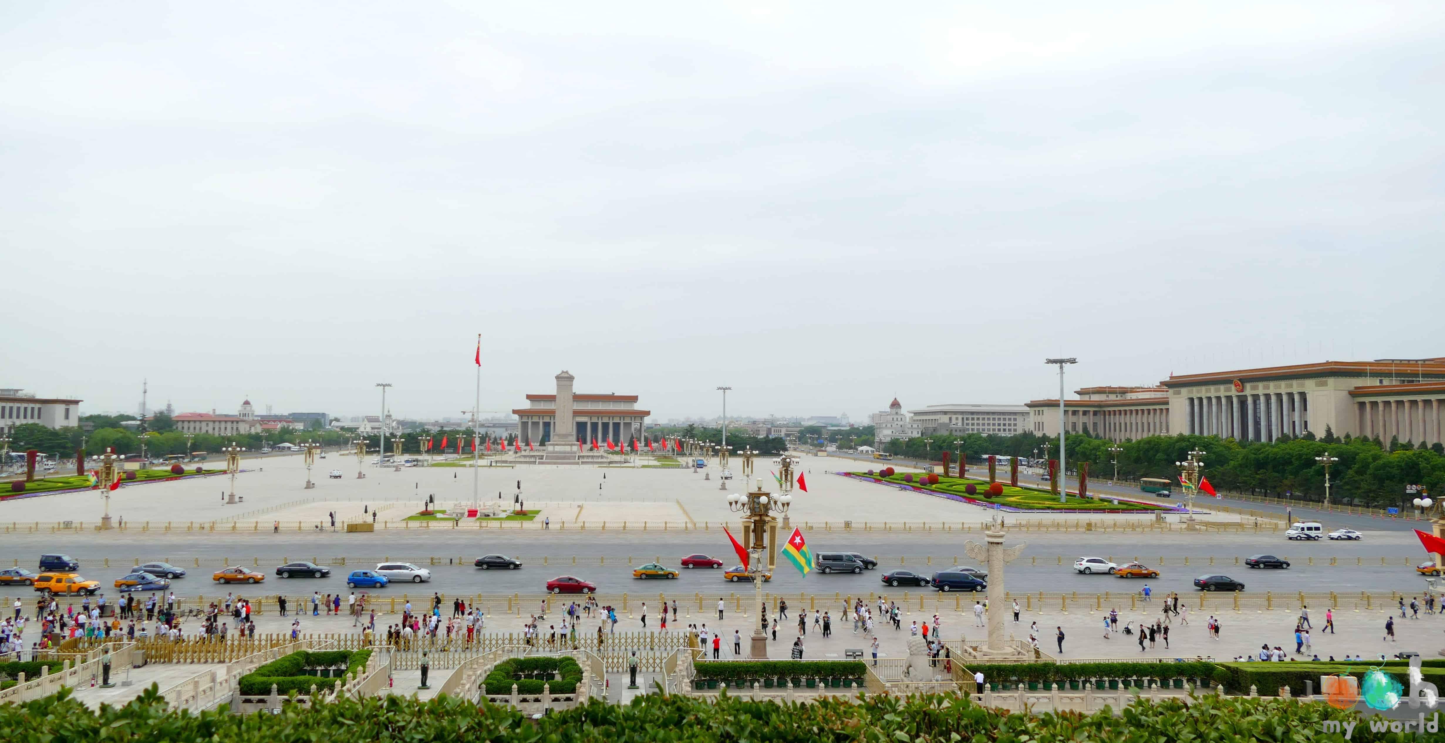 Place de Tienanmen à Pékin