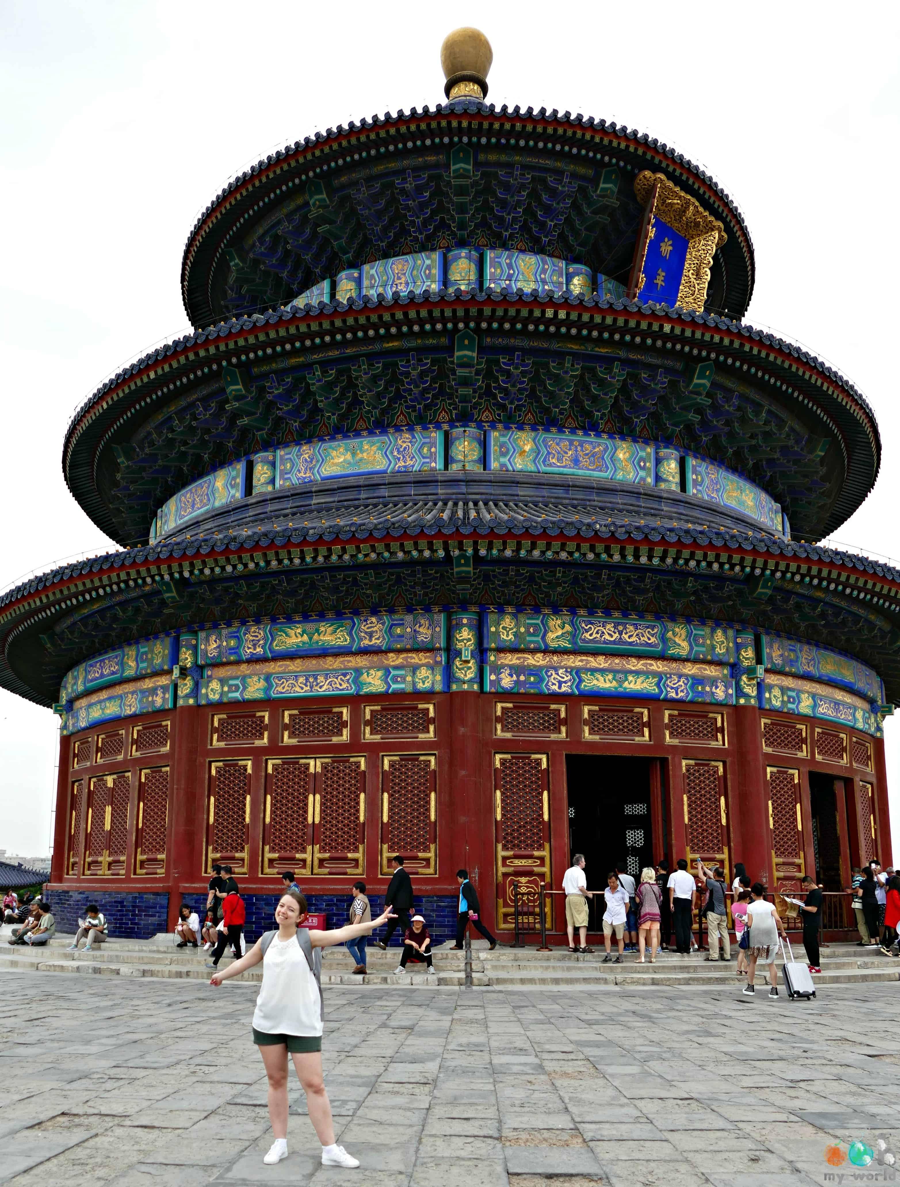 Temple du Ciel à Pékin - Sophie