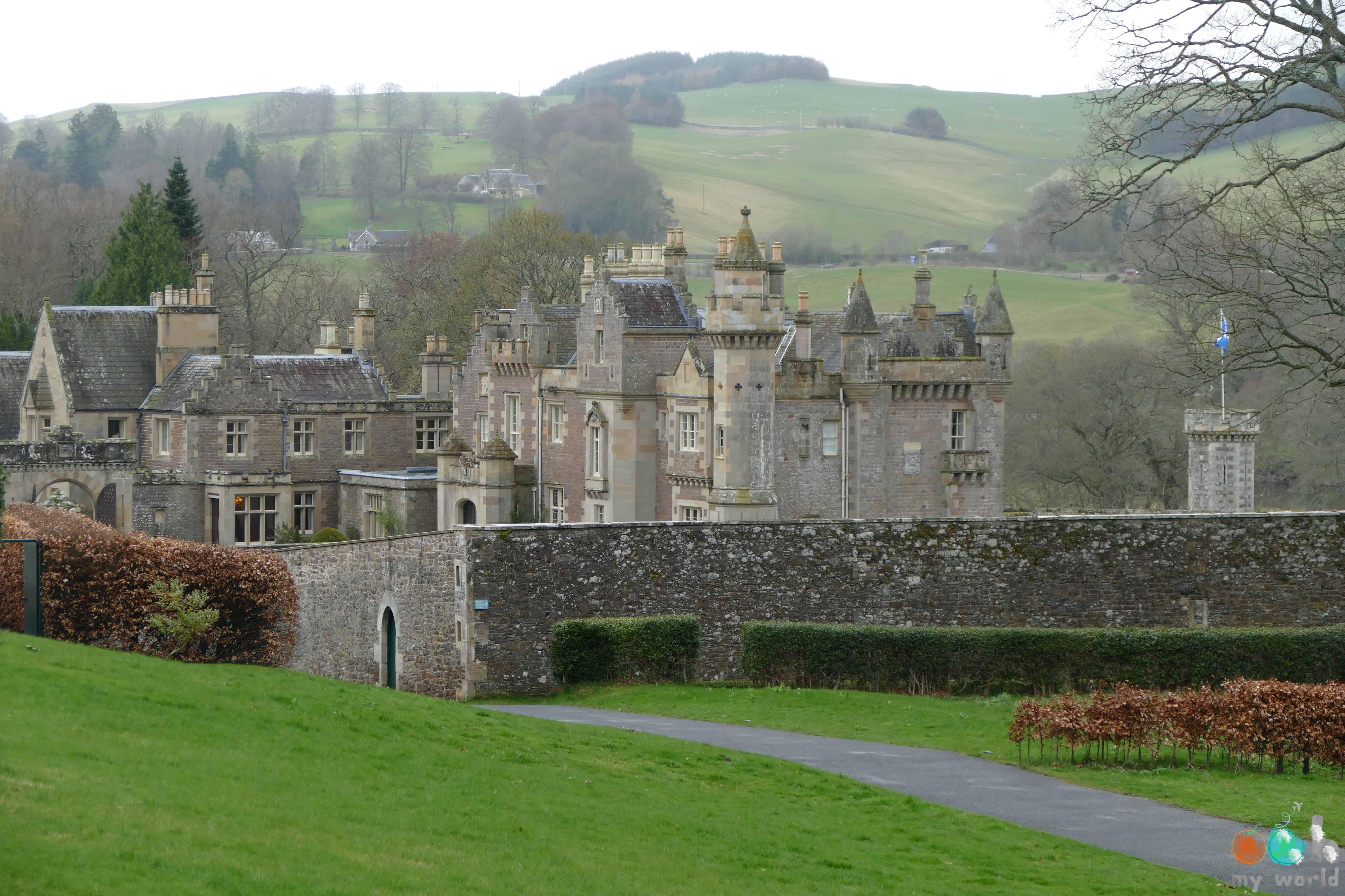 Le château écossais de l'écrivain Walter Scott: Abbotsford House