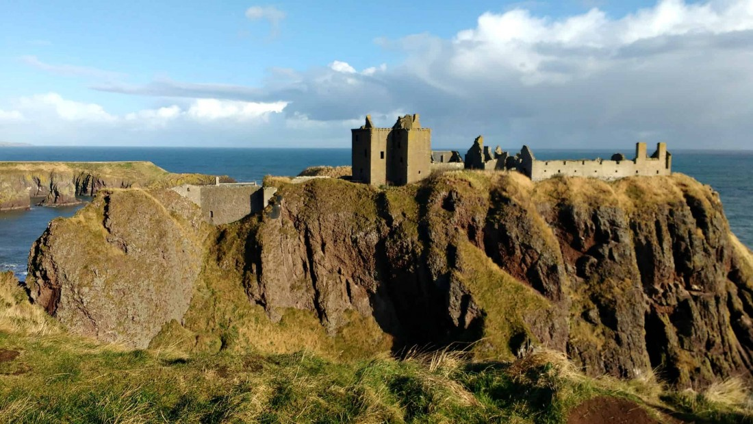 Châteaux écossais : Dunnottar Castle