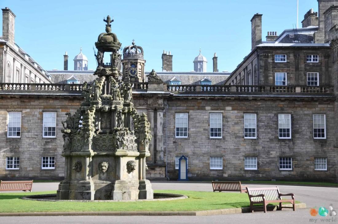 Chateaux écossais : Palais Royal d'Holyrood