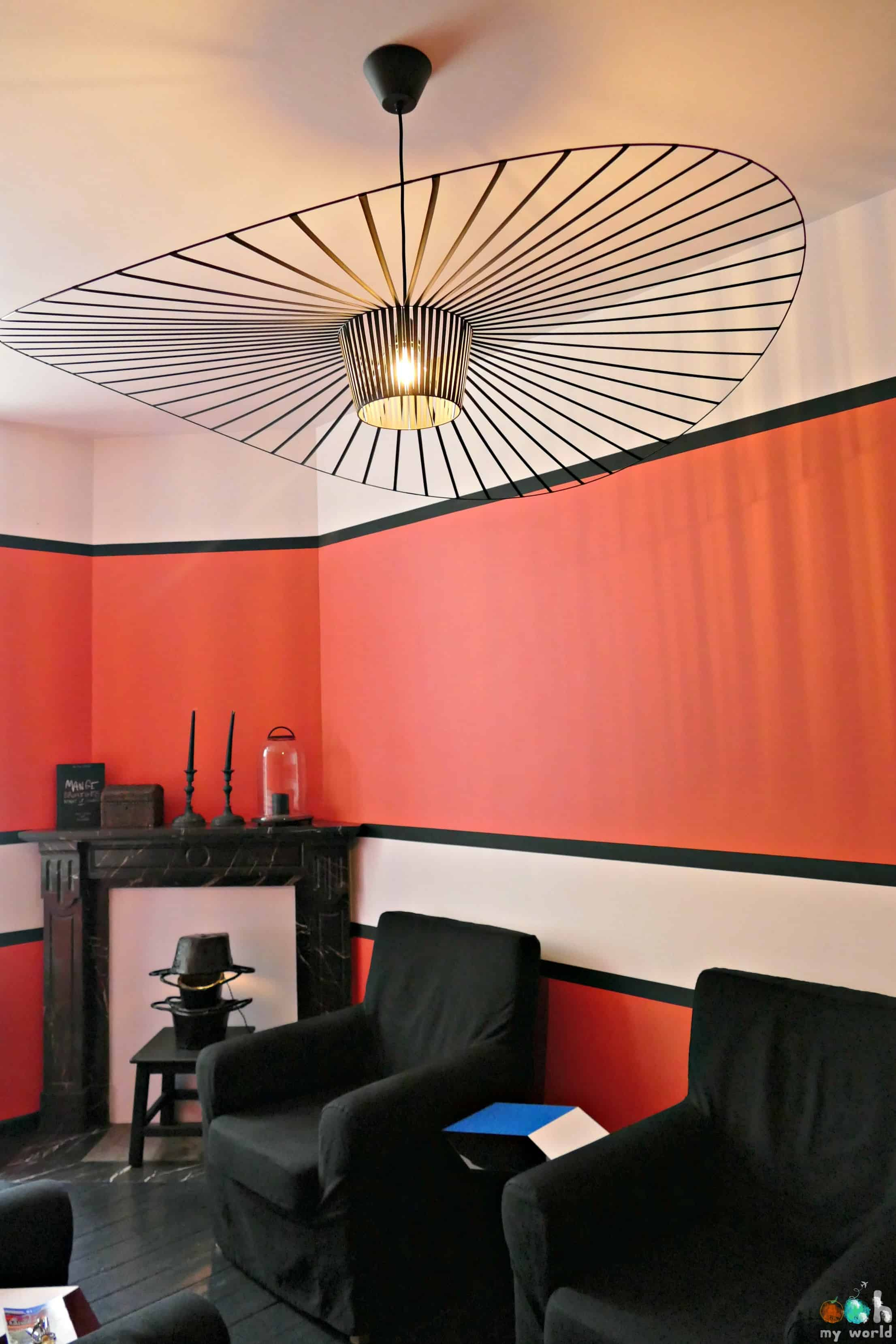 Salon pour les clients de la Maison Haute