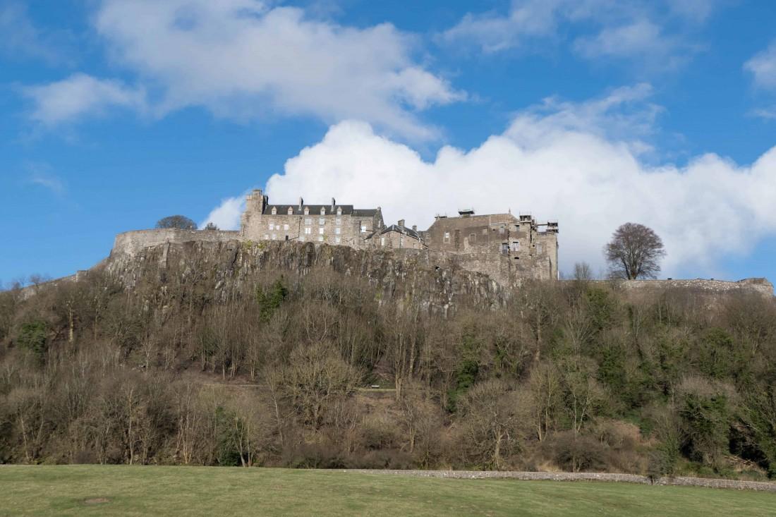 Châteaux écossais : Stirling Castle