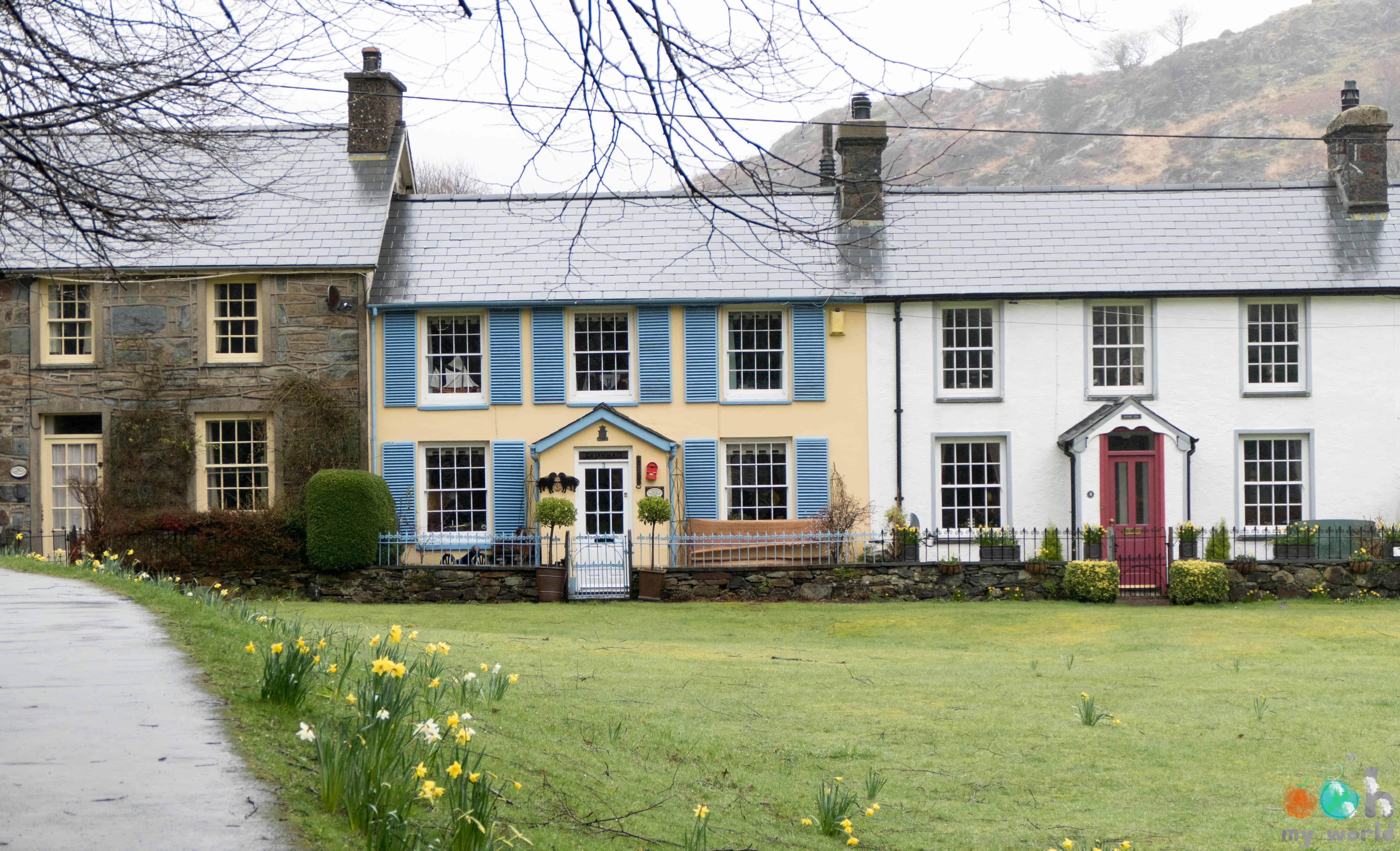 Le village de Beddgelert dans le Pays de Galles