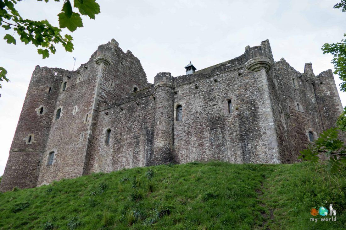 Châteaux écossais : Doune Castle