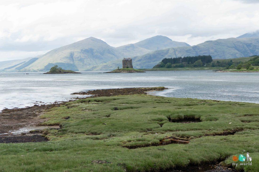 Châteaux écossais : Stalker Castle