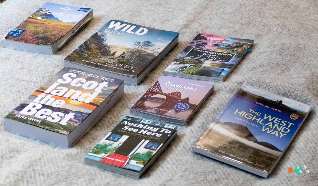 guides de voyage sur l'Ecosse, la collection Ooh My World !