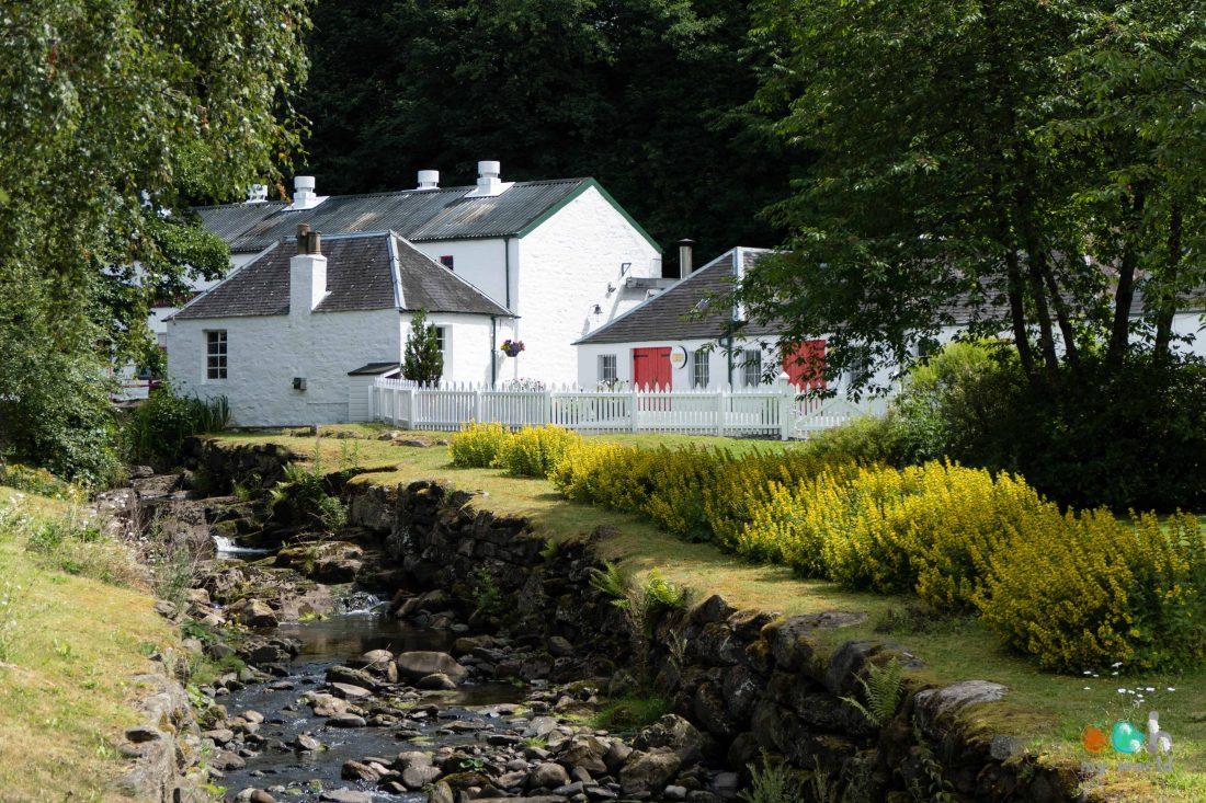 Distillerie d'Edradour à Pitlochry