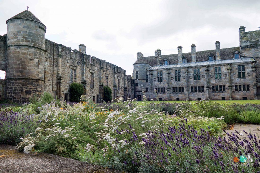 Châteaux écossais : Falkland Palace