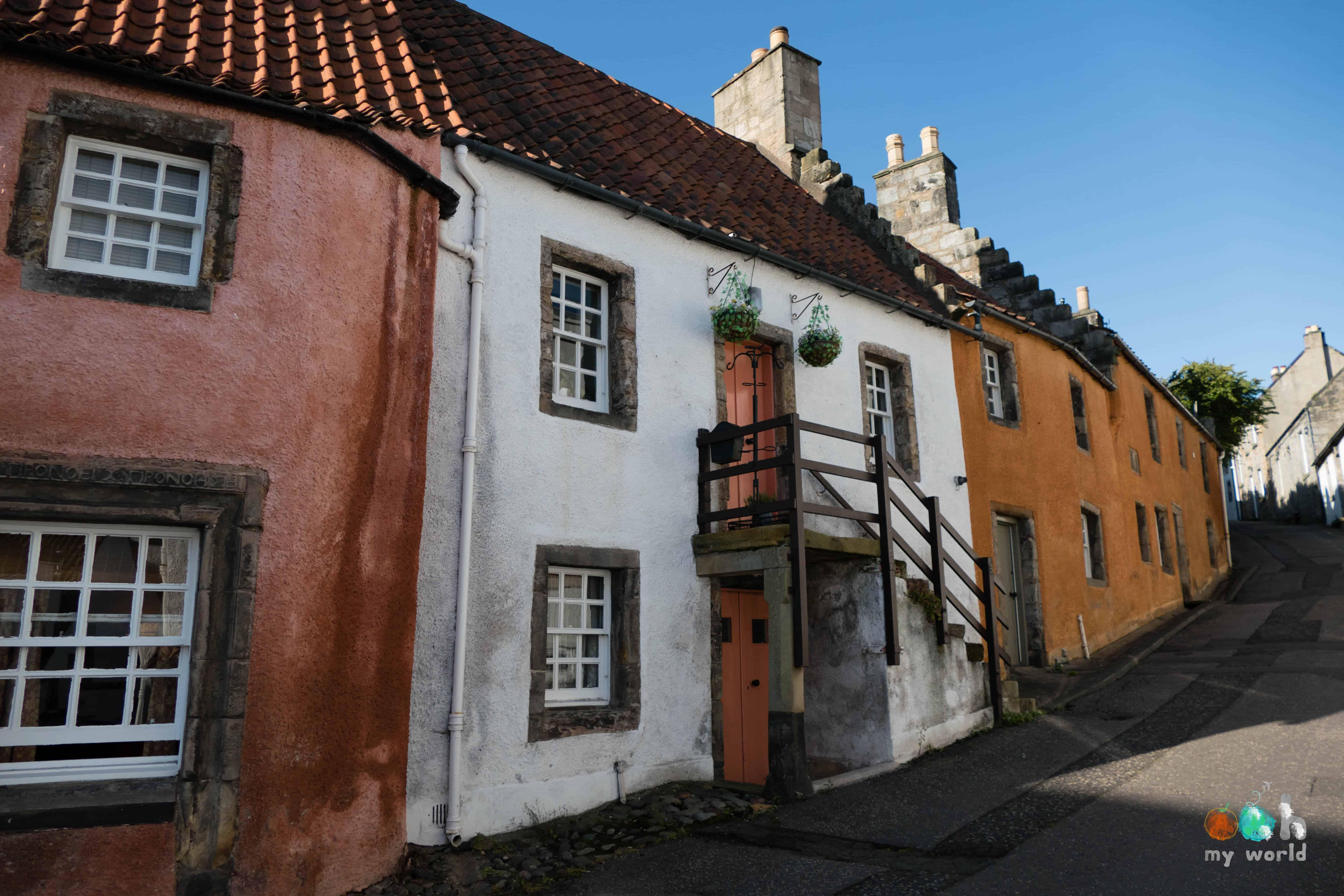 Maisons historiques du village de Culross à Fife