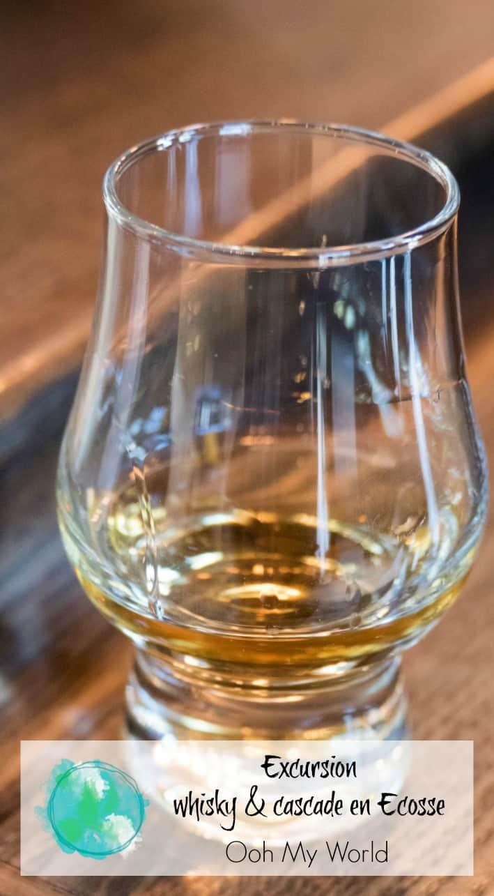 Récit de mon excursion sur le thème du whisky et des cascades en Ecosse avec Highland Explorer ! Une journée agréable à découvrir les beautés de l'Ecosse