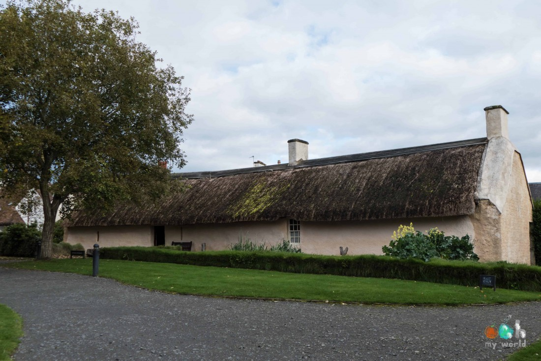 Maison natale de Robert Burn à Ayr en Ecosse