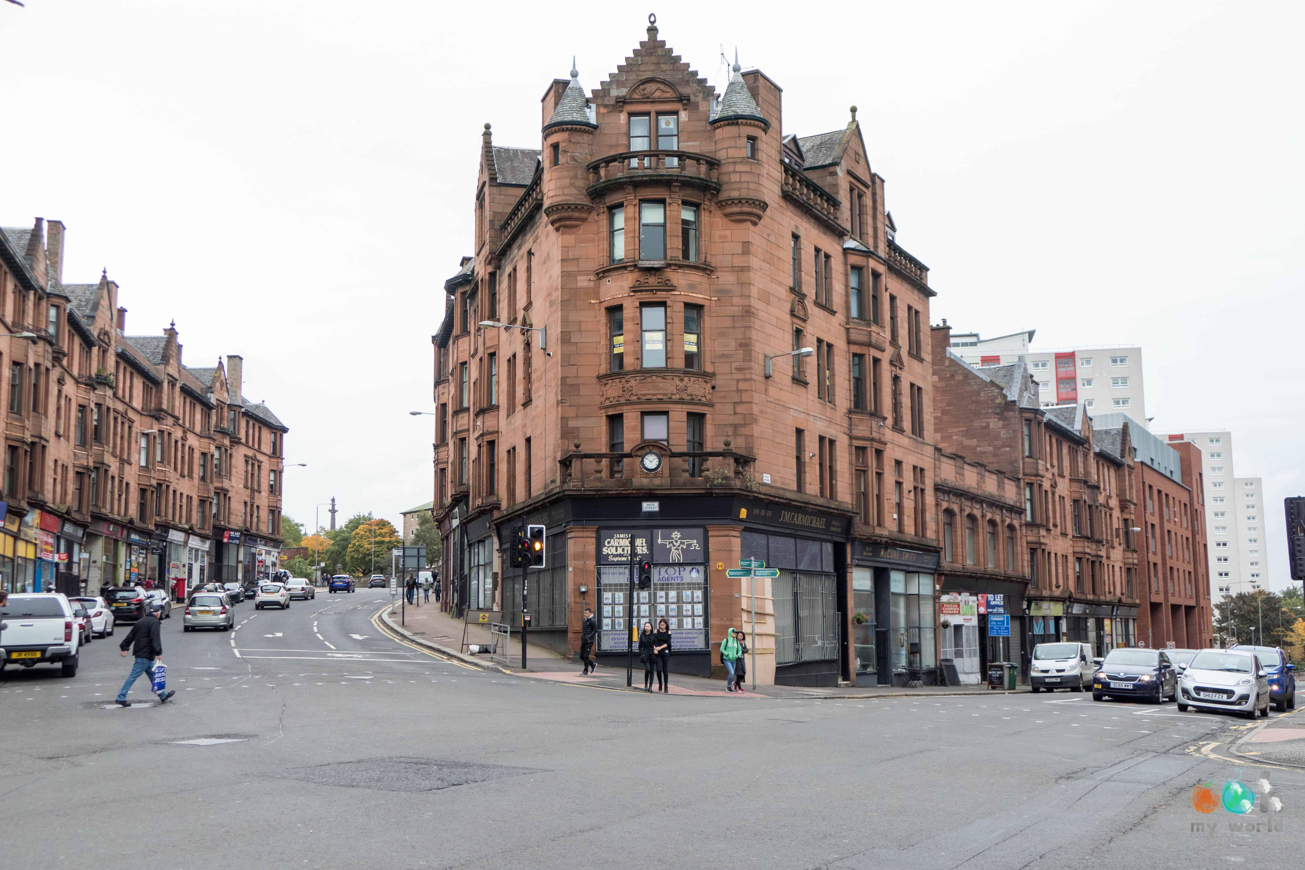 Visite de Glasgow pendant une journée
