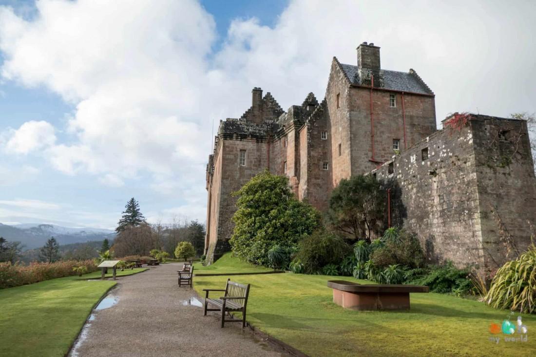 Châteaux écossais : Brodick Castle
