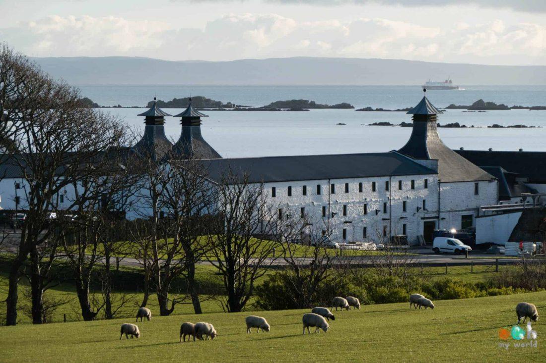 Distillerie d'Ardberg sur l'île d'Islay en Ecosse