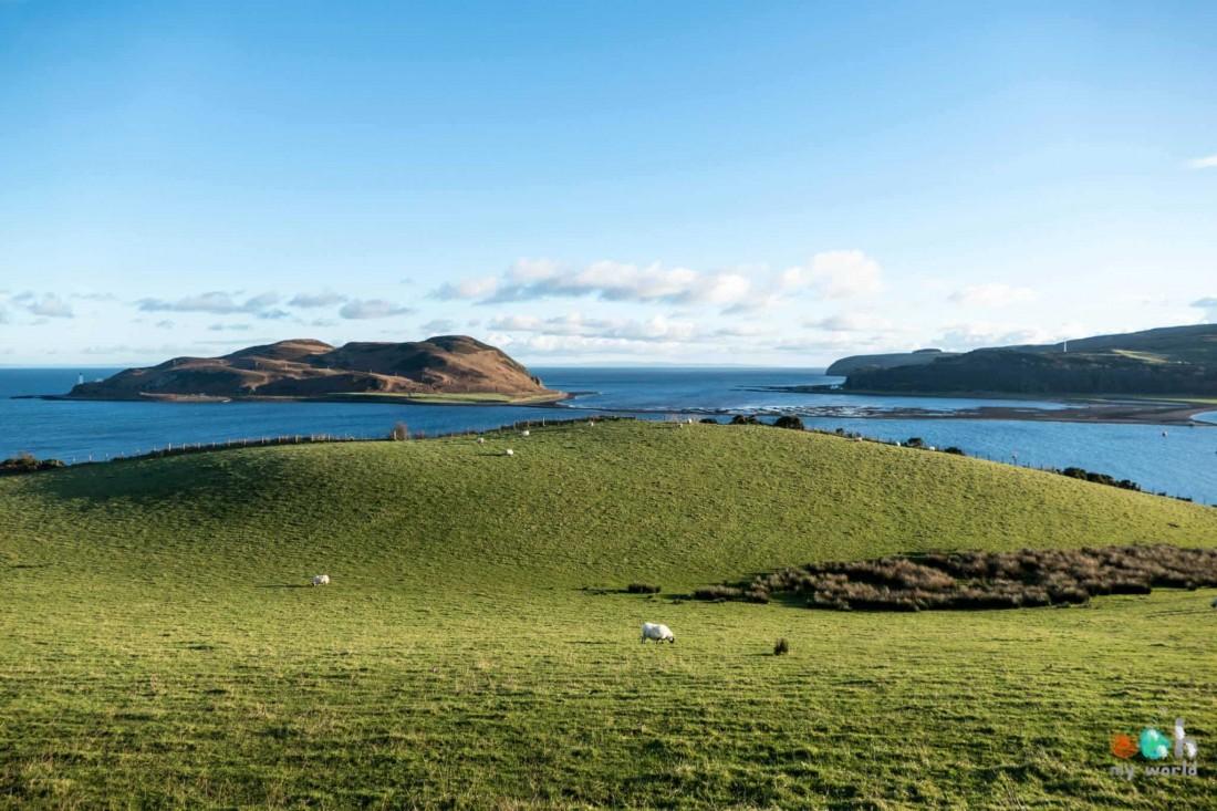 Paysage de la péninsule de Kintyre en Ecosse