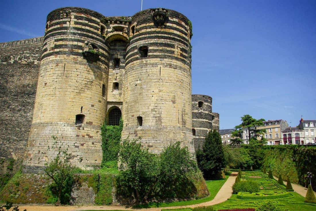 Château d'Angers en France