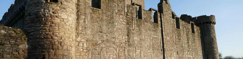 Craigmillar Castle le deuxième château d'Edimbourg