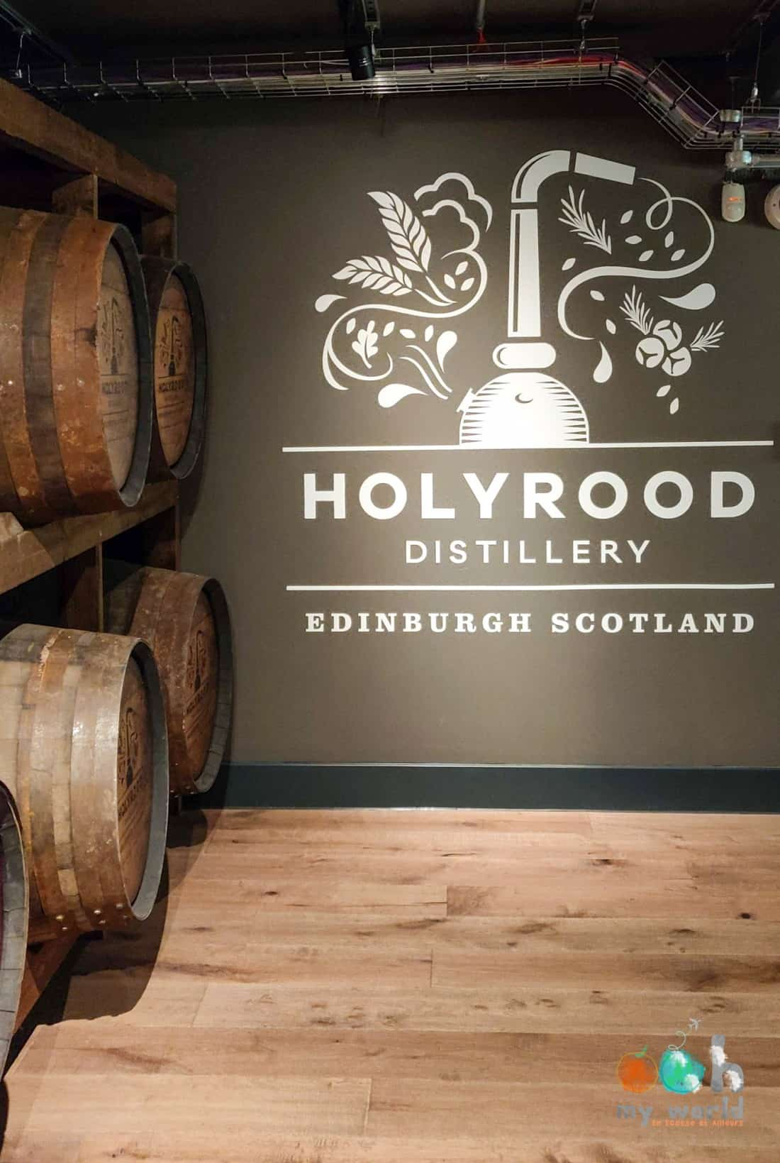 Visite d'Holyrood distillery à Edimbourg