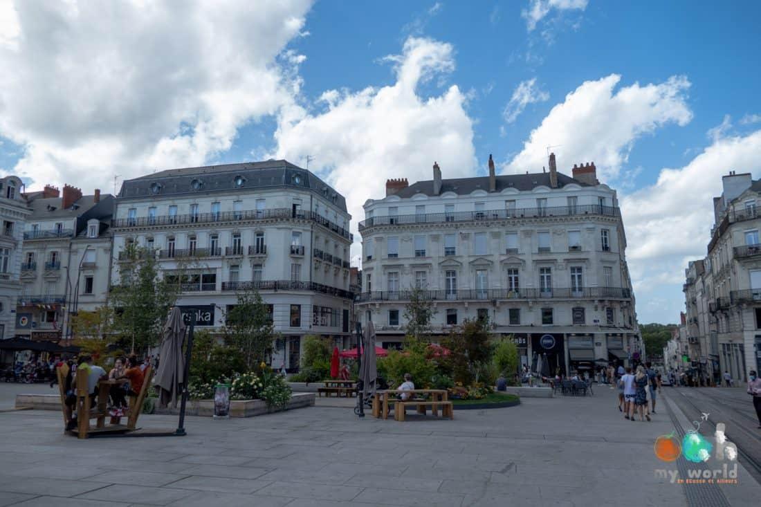Visiter Angers et sa place du Ralliement
