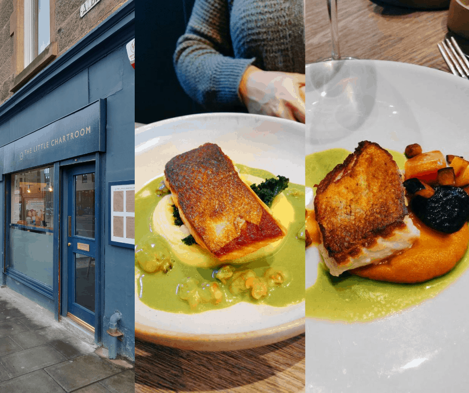 The Little Chartroom - Meilleurs restaurants d'Edimbourg en Ecosse